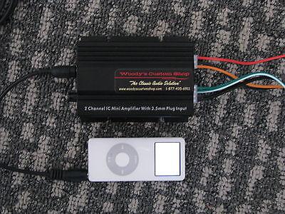 Jaguar BMW Alfa Romeo VW iPod iPhone MP3 Classic Car Hidden Stereo Audio System