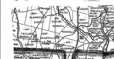 1879 RI Map Barrington Burrillville Central Falls Charlestown POPULATION History