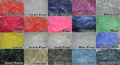 Angelina Fibres (fusable fibres) 3 x 10g Packs - Choose From 21 Colours 2