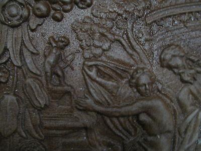 Kaminplatte Ofen Antikes Motiv mit Engel Putte 3