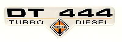 DT 444 INTERNATIONAL 7.3  EMBLEM B SATIN