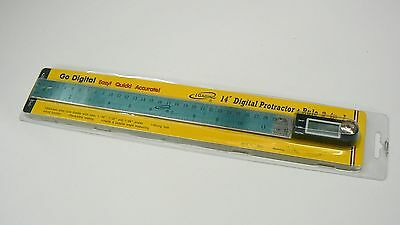 """iGaging 14"""" Digital Protractor Goniometer Miter Gauge Electronic Angle Finder 8"""