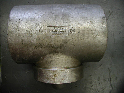 "Horizontal//Vertical Killark EY-8 3.5/"" Aluminum Explosion Proof Fitting"