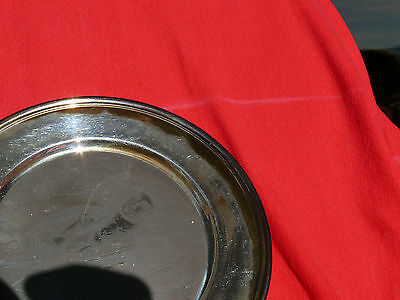 Vintage S Kirk & Son Collection AMERICAN COLONIAL SOLDIER Sterling Silver Plate 3