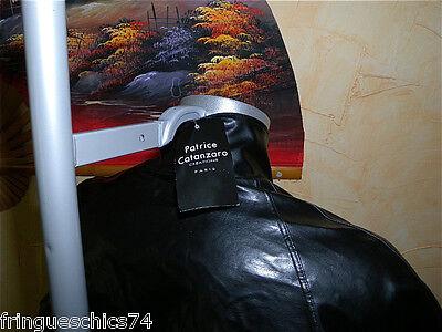 M body rubber latex noir mat fétiche homme PATRICE CATANZARO T3 NEUF ÉTIQUETTE