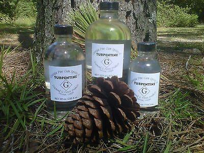 4 oz. 100% Pure Gum Spirits of Turpentine
