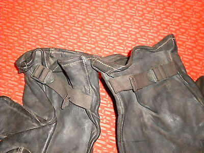 U.S.ARMY :M-1949 GLOVE SHELLS LEATHER, ,KOREA WAR SIZE 3 nice