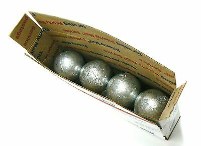 10 Pounds Zinc Anodes 99.9% Pure Anode For Metals & Alloys 10 Round Balls 4