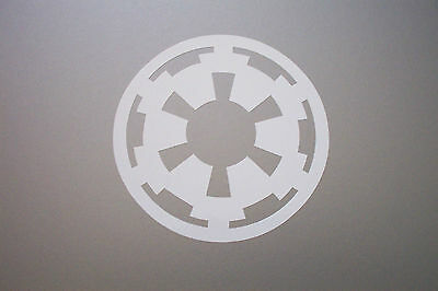 """RED WHITE STAR WARS Outline Logo Decal Sticker BLACK YELLOW 1.5/"""" 2/"""" 3/"""" 3.5/"""""""