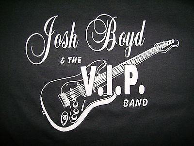 JOSH BOYD V.I.P. BAND t SHIRT If It Ain't BLUES Concert Toledo Ohio Guitar M 2