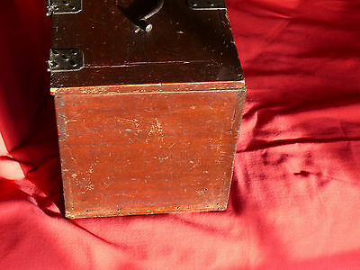 1615-1868 Japanese EDO Period TANSO CALLIGRAPHER's DESK CHEST w Lid & 3 Drawers 6