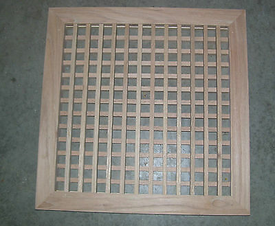 Made To Your Size Large Wood Floor Grate  Wall Register Floor Vent 8