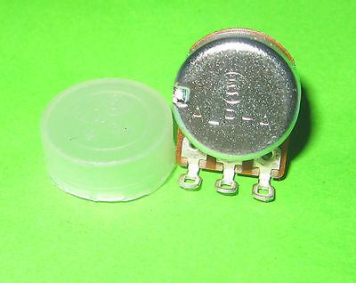 A2K Split Shaft 17mm Solder Potentiometer EL Alpha 2k ohm AudioTaper Pot Log