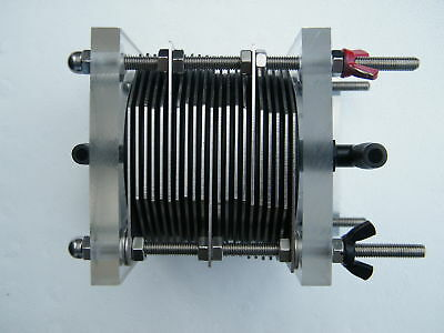 DIY BUILD  HHO TURBO 21 PLATE  DRY CELL   BUILD IT YOURSELF   HYDROGEN GENERATOR