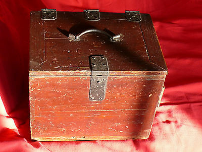 1615-1868 Japanese EDO Period TANSO CALLIGRAPHER's DESK CHEST w Lid & 3 Drawers 5