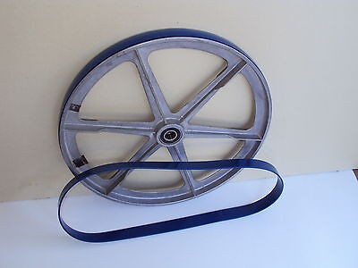 """Delta 28-195  Blue Max Urethane Band Saw Tires For 10"""" Delta  28-195 Band Saw 4"""