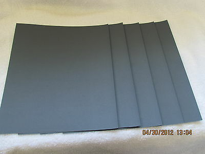 "Sandpaper 5 1/2"" x 9"" Combo WET OR DRY  1500 2000 2500 3000 5000 grits 5 pc. 2"