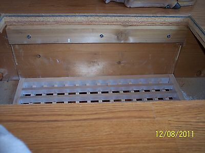 Made To Your Size Large Wood Floor Grate  Wall Register Floor Vent Airflow 11