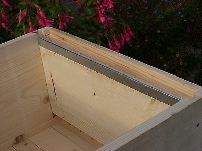 4 x Beekeeping National bee hive Steel frame runners (2 pairs)