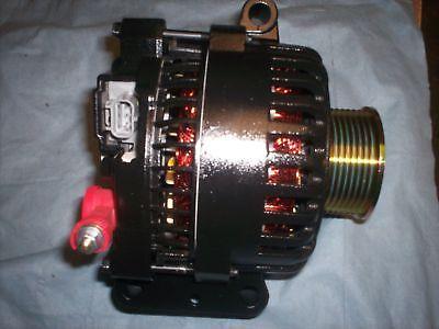 Ford EXCURSION Alternator BLACK HIGH AMP 2005 6.0L V8 DIESEL STD 2003 2004 6.0L 4