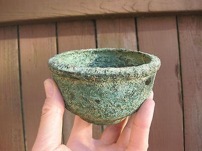 Ancient Phoenician(?) Bronze Bowl, Eastern Mediterranean Sea, shipwreck treasure 7