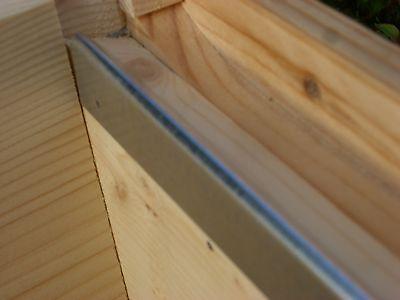 12 x Beekeeping National bee hive Steel frame runners (6 pairs)