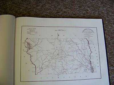 UNBOUND Lot of 28 Robert Mills 1825 MILLS ATLAS OF SC Maps