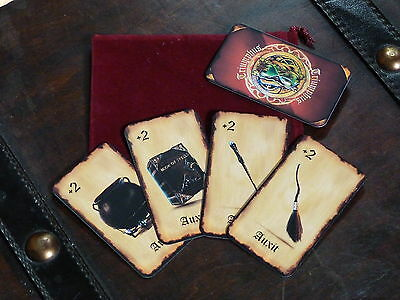 Triumphus in chest.Card Game of the Wizarding World.Harry Potter.Wicca.Witch 4