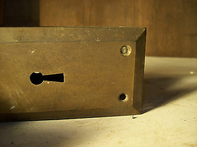 4 avail. skinny lock boxes bevel plate and textured plate sets (DH 47) 6