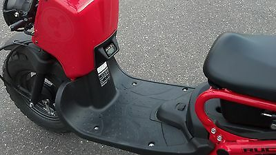 KOSO gauge Honda Ruckus Smooth Black Gas Tank Cover Forward Extended Stage 6