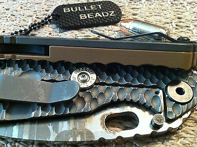 Federal 45 Caliber Bullet Lock Bar Stabilizer made to fit Strider SnG Knives 4