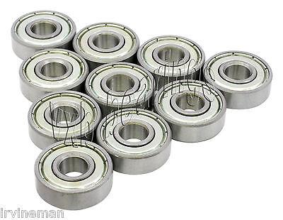 5//16x 29//32x 5//16 inch 10 pcs 1605 ZZ C3 metal shielded ball bearing