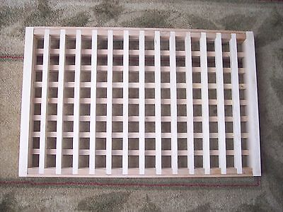 Made To Your Size Large Wood Floor Grate  Wall Register Floor Vent Airflow 10