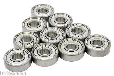 10 Bearing 6932Z Shielded 3 x 8 x 4 mm Ball Bearings