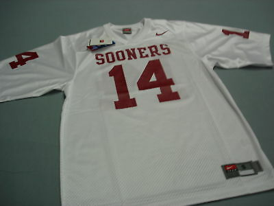 outlet store 4a54f c55a0 NIKE OU OKLAHOMA Sooners FOOTBALL JERSEY Adult SM New !