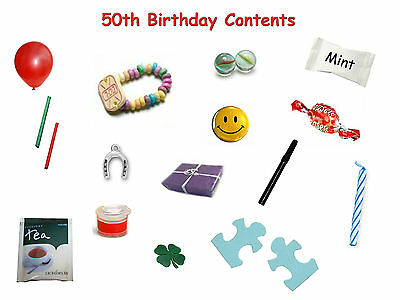 50th BIRTHDAY SURVIVAL KIT IN A CAN Gift Ideas /& Card For Him//Her//Men//Women//Dad