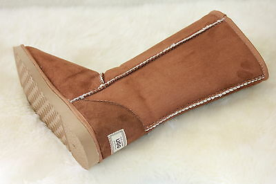 Ugg Boots Tall, Synthetic Wool, Men's Size 9 Colour Chestnut 5