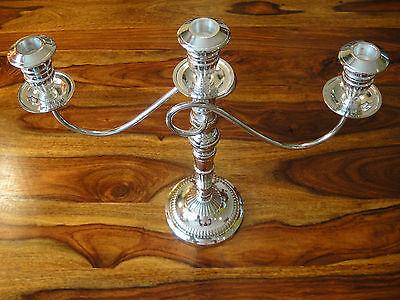 Kerzenhalter Silber Jugendstil Kandelaber Kerzenleuchter Antik Kerzenständer NEU 5
