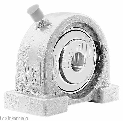 SUCPAS202-10-PBT Stainless Steel Tapped Base 5//8 Mounted Bearings