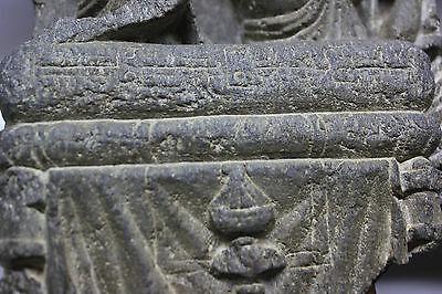 B.c.a.d. Art - 300 A.d. Gandharan Schist Frieze Of Attendants