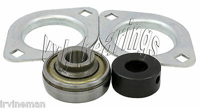 """SBPFL207-20 Pressed Steel Bearing Unit 2-Bolt 1 1//4/"""" inch Flanges Mounted 13706"""