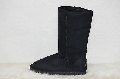 Ugg Boots Tall, Synthetic Wool, Size 9 Mens, Colour Black 2