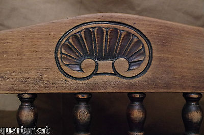 Antique Antiques Chairs Victorian Original Wood Wooden Chair Home Furniture 4