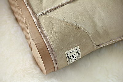 Ugg Boots Tall, Synthetic Wool, Size 9 Lady's/Size 7 Men's, Colour Beige 6