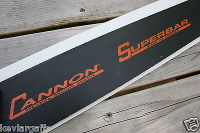 NEW Cannon Superbar 72 inch chainsaw bar 404 pitch .063 gauge 6 Feet long