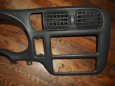 1998 2002 Chevy S10 Blazer Gmc Jimmy Dash Bezel Trim 98 99 00 01 Picup