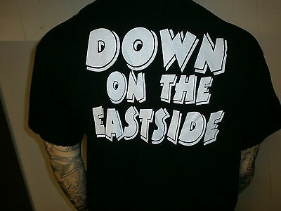 JOSH BOYD CONCERT T SHIRT Blues Guitar VIP BAND srv Down On Eastside Tour XL 3