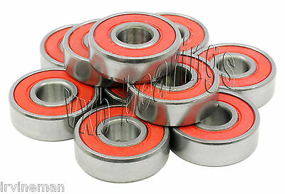 """SR1212-2RS Stainless Steel Sealed Ball Bearing 1//2/""""x 3//4/""""x 5//32/"""" inch Pack 10"""