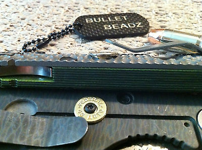 Federal 45 Caliber Bullet Lock Bar Stabilizer made to fit Strider SnG Knives 5