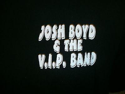 JOSH BOYD CONCERT T SHIRT Blues Guitar VIP BAND srv Down On Eastside Tour XL 2